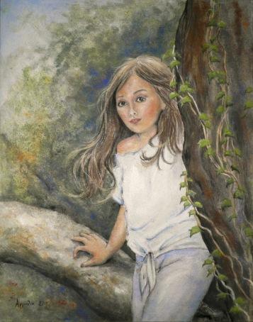 artiste peintre, peinter artist, ζωγράφος, πίνακες ζωγραφικής, τοπίο, ποτάμι γεφύρι, peintures, paintings, landscape