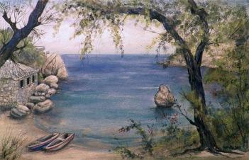 artiste peintre, peinter artist, ζωγράφος, πίνακες ζωγραφικής, τοπίο, ποτάμι γεφύρι, peintures, paintings, landscape seascape