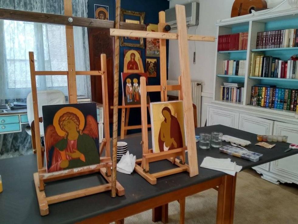 Μαθήματα Αγιογραφίας Αρχοντία Καρακώστα