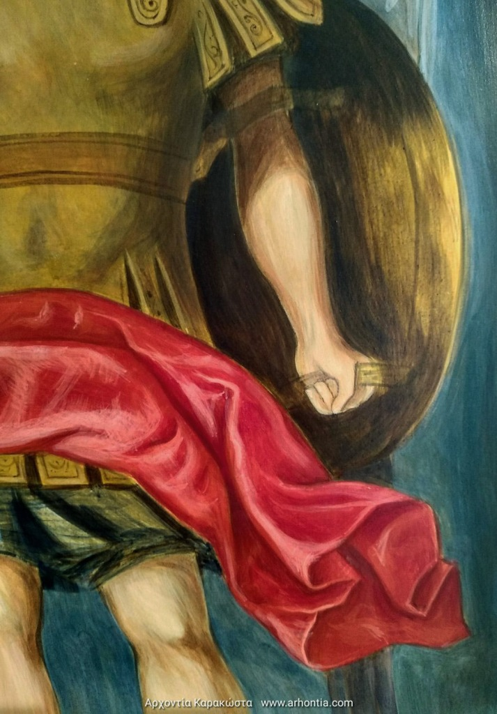 μαθήματα αγιογραφίας αρχάγγελος μιχαήλ