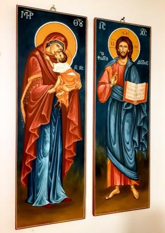 Παναγία και Χριστός