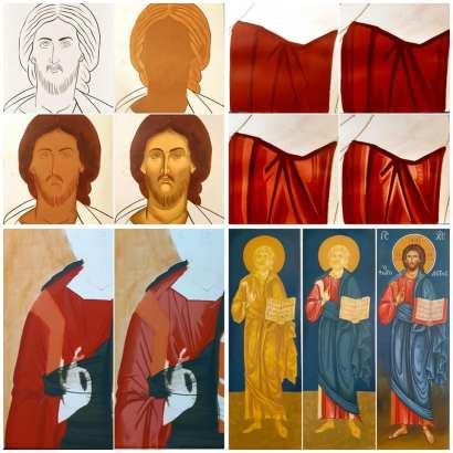 Μαθήματα αγιογραφίας Αρχοντία Καρακώστα (11)